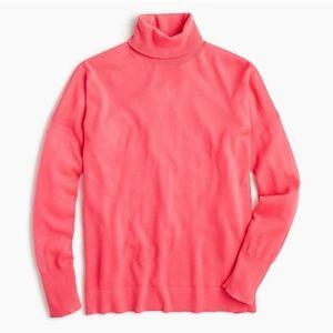 J.Crew Nyla Weekend Merino Wool Turtleneck Sweater